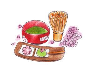 銀座 老舗 菓子店 茶道教室